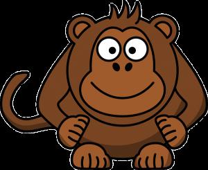 monkey 37394 640 300x246 صفات مولود برج القرد الصيني