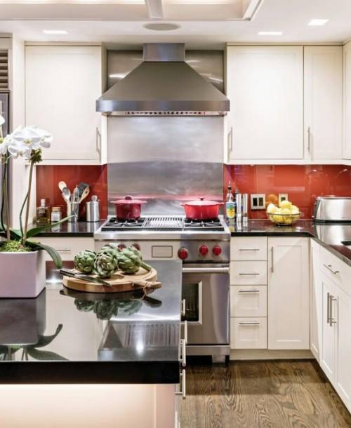 بطريقة سهلة وبسيطة اجعلي مطبخك واسع وانيق